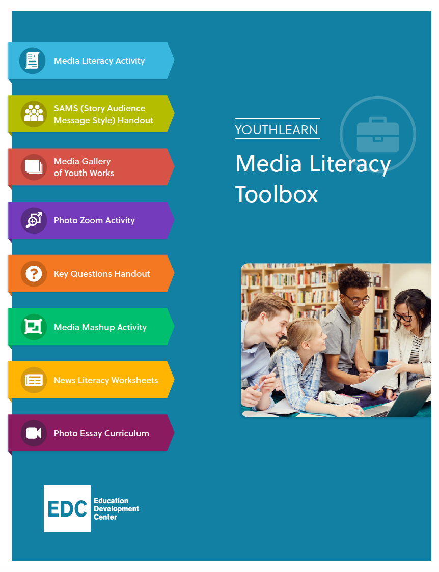 YouthLearn Media Literacy ToolboxCoverPage