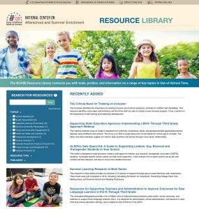 NCASE Resource Library